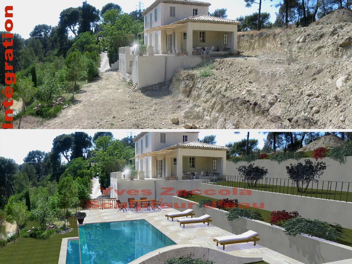 Piscine piscines classiques for Fontaine piscine design